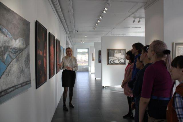Экскурсия в галерею «Год живописи»