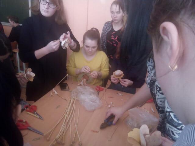 Посещение Стеклозаводской СОШ с профориентацией