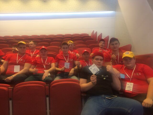 Открытие чемпионата 3.12 в МВДЦ Сибирь