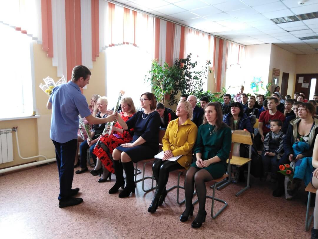 Международный женский День 8 марта в Замятино
