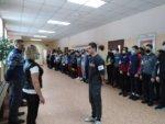 Военно-спортивные соревнования учебных групп в Замятино