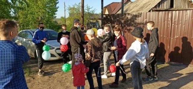 День защиты детей в Замятино